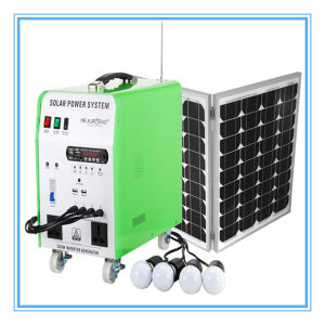 off Grid 300W Solar Light System for Home pictures & photos