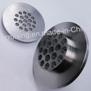 Precision Machined Part for Industrial Flow Conditioner
