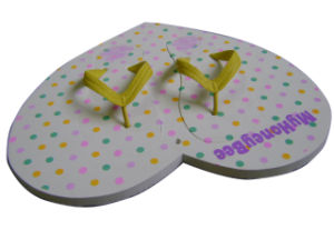 Customized All Kinds Shape EVA Board Flip Flops pictures & photos