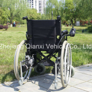 Smart Electric Folding Elderly or Invalid Wheelchair (XFG-102FL) pictures & photos