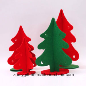 Customized Die Cut Felt Christmas Tree /Decoration Christmas Tree Ornament pictures & photos