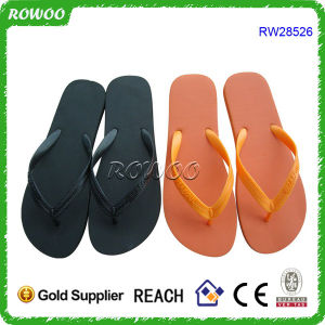 Women Simple Flip Flops in Basic Style (RW28526)