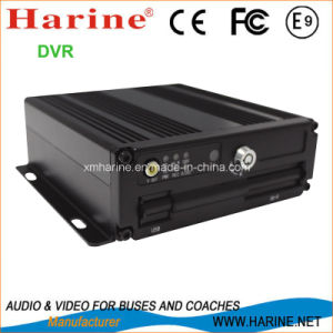 Vehicle 4 Channel 128g SD Card 3G GPS Mobile DVR pictures & photos