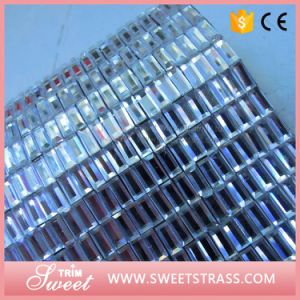 Hotsale 24X40cm Rhinestone Mesh Sheet for Fashion Decrations pictures & photos