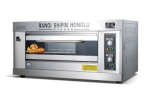 High Performance! ! ! Gas Deck Oven Pizza Oven Baking Oven Bakery Equipment (RQL-Y-1)