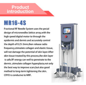 Fractional RF Needle Beauty Machine with ODM/OEM (MR16-4S) pictures & photos