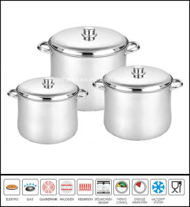 Deep Stainless Steel Stockpot pictures & photos