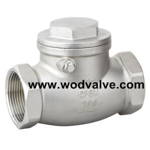 Female Threaded Swing Check Valve pictures & photos