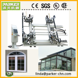 Parker 4 Heads Plastic Window Vertical Welding Machine Price pictures & photos