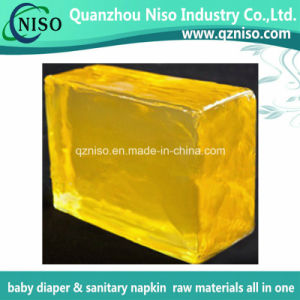 Light Yellow Hotmelt Adhesive Glue for Baby Diaper Raw Materials (LS-0347) pictures & photos