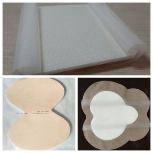 to High Exuding Wound Self- Adherent Silicone Foam Dressing pictures & photos