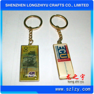 Anime Keychain Metal with Printing and Epoxy pictures & photos