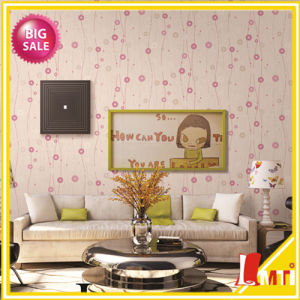 High Quality Italy Style PVC Wallpaper for Interior Decoration pictures & photos