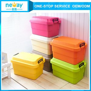 Colorful Best Selling Plastic Foldable Storage Box pictures & photos
