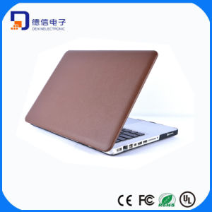 Leather Finished PC Shell Cover for MacBook (LC-CS117) pictures & photos