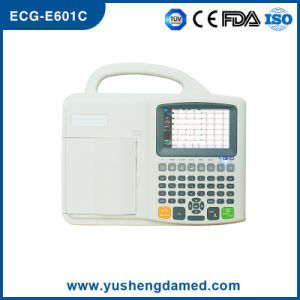 ECG-E601c Ce Approved Six Channel Digital Portable ECG Machine pictures & photos