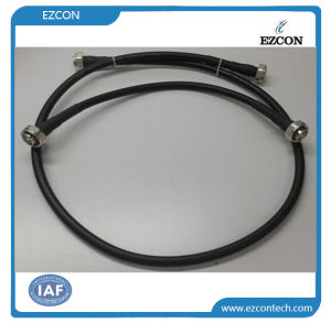 DIN 7/16 Male to Male RF Coaxial Low Pim Test Cable Assembly pictures & photos