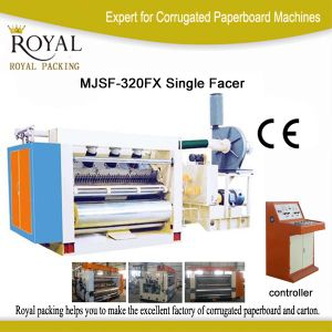 Mjsf-320fx Single Facer for Paperboard Flute Making pictures & photos