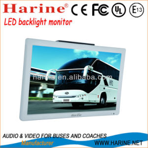 "21.5"" Fixed LED Backlight Roof Mount Car LCD Monitor pictures & photos"