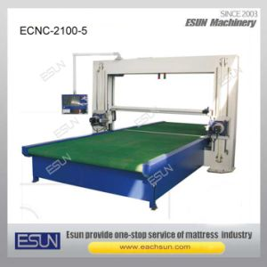 Ecnc-2100-5 CNC Horizontal and Vertical Blade Foam Cutting Machine pictures & photos