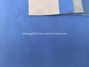 China Manufacturer of PU Leather, Synthetic Leather for Shoes, Belt, Bag, Furnitre pictures & photos