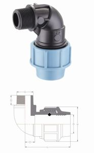 Irrigation PP Ball Valve and Compression Fittings pictures & photos