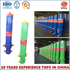 Hyva Type Telescopic Hydraulic Cylinder for Dump Truck pictures & photos