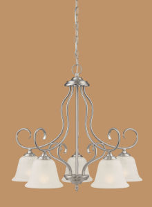 Hot Sale Chandelier with Glass Shade (1535SN)