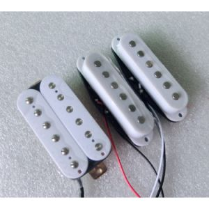 White Color High Output Ssh AlNiCo Humbucker Guitar Pickup pictures & photos