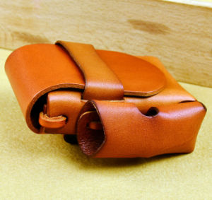 Electronic Cigarette Leather Carrying Case pictures & photos