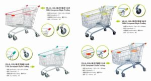 Hot Sale All Kinds of Shopping Cart Trolley, Retail Shopping Trolley, Shopping Trolley pictures & photos