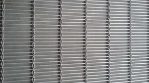 Metal Wire Mesh Partition Screens--Tec-Sieve Multi-Barrette Weave/Cable Mesh System pictures & photos
