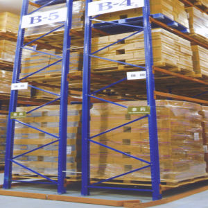 ISO Approved Heavy Duty Very Narrow Aisle Racking pictures & photos