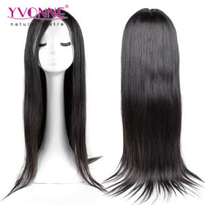 Natural Color Brazilian Straight Human Hair Wig pictures & photos