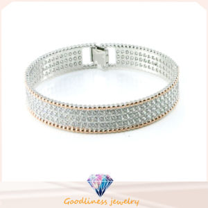 Cubic Zirconia 925 Sterling Bangle Silver Women Jewelry (G41256) pictures & photos