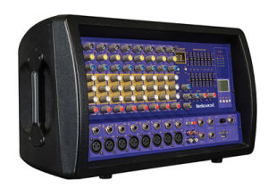 2 Band EQ 10 Channels Professional Audio Mixing Console K628 pictures & photos