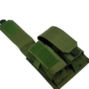 Anbison-Sports Airsoft Molle Double Magazine Pouch Holder pictures & photos
