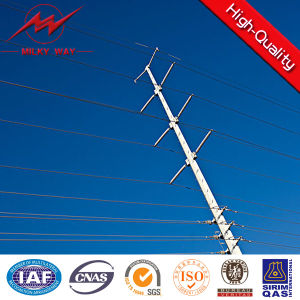 13.4kv Low Voltage Hot DIP Galvanized Electric Pole pictures & photos