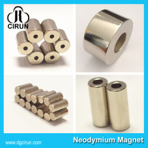 Small Arc Disc Ring Sintered Neodymium Magnets for Electronics