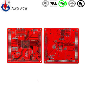 4/4mil Multilayer Red Mask Rigid PCB Circuit Board pictures & photos