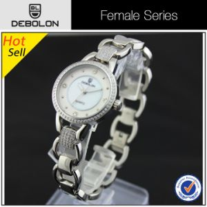 Ladies Japan Quartz Stainless Steel Fashion Watch