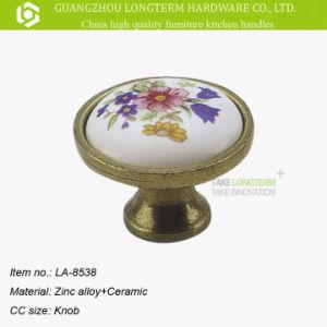 Classical Decorative Round Ceramic Porcelain Door Knobs pictures & photos