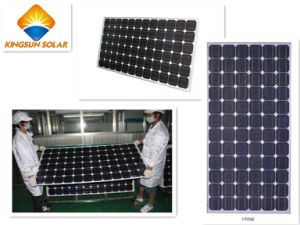 High Efficiency Mono Solar Panels (KSM170-200W 6*12 72PCS) pictures & photos