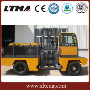 Ltma 8 Ton Hydraulic Transmission Side Loader Forklift pictures & photos