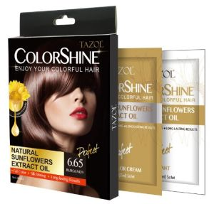 Sunflower Extract Hair Dye 25ml*2 Cosmetics Hair Gel pictures & photos