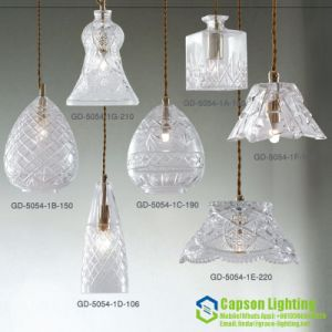 New Design Indoor Decoration crystal Pendant Lamp Gd-5054-1abcdefg pictures & photos