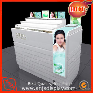 Wood Cosmetic Display Counter for Shop pictures & photos