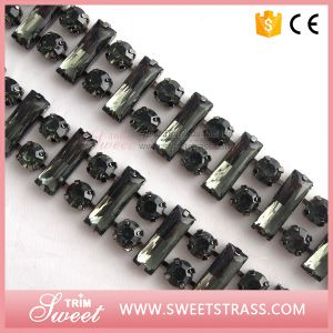 Strass Chain Silver Claw Cup Chain Rhinestone pictures & photos