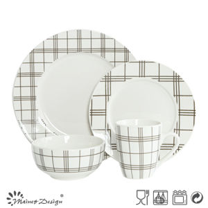 High Luxury Decal 16PCS Restaurant Dinnerware Set pictures & photos