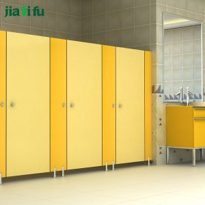 Jialifu Economical Waterproof Nylon Hardware Toilet Cubicle pictures & photos